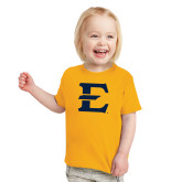 Toddler Gold T Shirt-E - Offical Logo