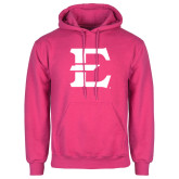 Fuchsia Fleece Hoodie-E - Offical Logo