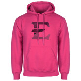 Fuchsia Fleece Hoodie-E - Offical Logo Foil