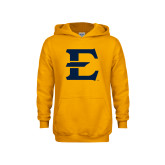 Youth Gold Fleece Hoodie-E - Offical Logo