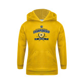 Youth Gold Fleece Hoodie-2017 Southern Conference Championship - Mens Golf