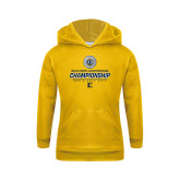 Youth Gold Fleece Hoodie-Southern Conference Championship - Mens Golf 2017