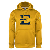 Under Armour Gold Performance Sweats Team Hoodie-E - Offical Logo