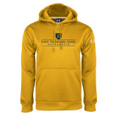 Under Armour Gold Performance Sweats Team Hood-East Tennessee University - Institutional Mark