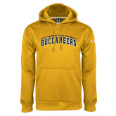 Under Armour Gold Performance Sweats Team Hoodie-Arched East Tennessee University Buccaneers
