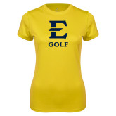Ladies Syntrel Performance Gold Tee-E Golf