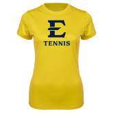 Ladies Syntrel Performance Gold Tee-E Tennis