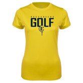 Ladies Syntrel Performance Gold Tee-Golf Tee Design