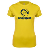 Ladies Syntrel Performance Gold Tee-Tennis Ball