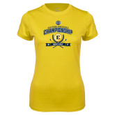 Ladies Syntrel Performance Gold Tee-2017 Southern Conference Championship - Mens Golf