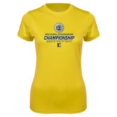 Ladies Syntrel Performance Gold Tee-Southern Conference Championship - Mens Golf 2017