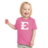 Toddler Fuchsia T Shirt-E - Offical Logo