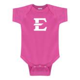 Fuchsia Infant Onesie-E - Offical Logo