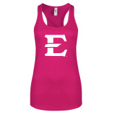 Next Level Ladies Raspberry Ideal Racerback Tank-E - Offical Logo