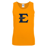 Gold Tank Top-E - Offical Logo