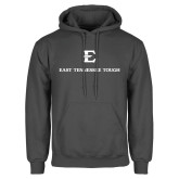 Charcoal Fleece Hoodie-East Tennessee Tough Stacked