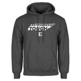 Charcoal Fleece Hoodie-East Tennessee Tough State