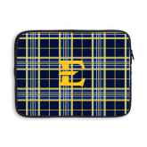 13 inch Neoprene Laptop Sleeve-E w/ Tartan Pattern