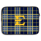 15 inch Neoprene Laptop Sleeve-E w/ Tartan Pattern