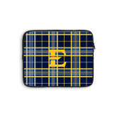 10 inch Neoprene iPad/Tablet Sleeve-E w/ Tartan Pattern