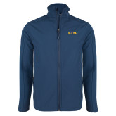 Navy Softshell Jacket-ETSU