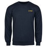 Navy Fleece Crew-ETSU