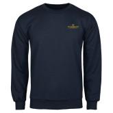 Navy Fleece Crew-East Tennessee University - Institutional Mark
