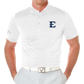 Callaway Opti Vent White Polo-E - Offical Logo