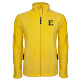Fleece Full Zip Gold Jacket-E - Offical Logo