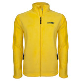 Fleece Full Zip Gold Jacket-ETSU