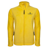 Fleece Full Zip Gold Jacket-East Tennessee University - Institutional Mark