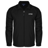 Full Zip Black Wind Jacket-ETSU
