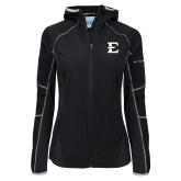 Columbia Ladies Sweet As Black Hooded Jacket-E - Offical Logo
