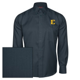 Red House Deep Blue Herringbone Long Sleeve Shirt-E - Offical Logo