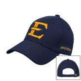 Navy Heavyweight Twill Pro Style Hat-E - Offical Logo