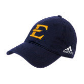 Adidas Navy Slouch Unstructured Low Profile Hat-E - Offical Logo