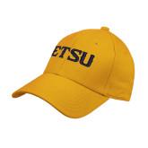 Gold Heavyweight Twill Pro Style Hat-ETSU