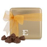 Decadent Chocolate Clusters Gold Medium Tin-E - Offical Logo Engrave