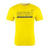 Nike Gold Classic Short Sleeve T-Shirt-