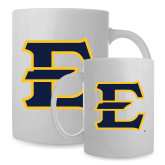 Full Color White Mug 15oz-E - Offical Logo