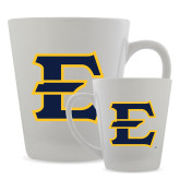 12oz Ceramic Latte Mug-E - Offical Logo