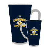 Full Color Latte Mug 17oz-2017 Southern Conference Championship - Mens Golf