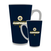 Full Color Latte Mug 17oz-Southern Conference Championship - Mens Golf 2017