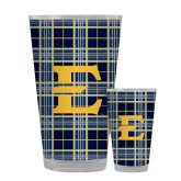 Full Color Glass 17oz-E w/ Tartan Pattern