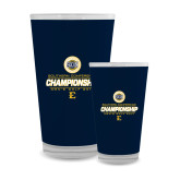 Full Color Glass 17oz-Southern Conference Championship - Mens Golf 2017