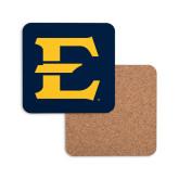 Hardboard Coaster w/Cork Backing-E - Offical Logo