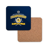 Hardboard Coaster w/Cork Backing-2017 Southern Conference Championship - Mens Golf