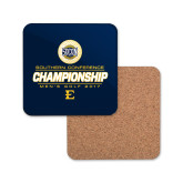 Hardboard Coaster w/Cork Backing-Southern Conference Championship - Mens Golf 2017