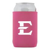 Neoprene Hot Pink Can Holder-E - Offical Logo