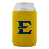 Collapsible Gold Can Holder-E - Offical Logo